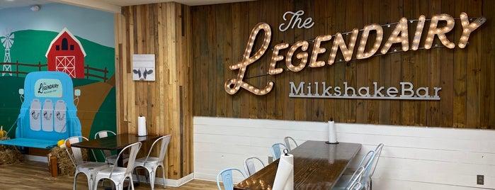 The Legendairy Milkshake Bar is one of Nashville.