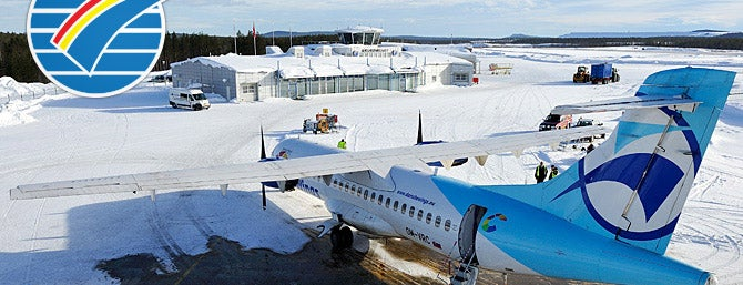Gällivare Lapland Airport is one of 4sq SUs Sweden : понравившиеся места.