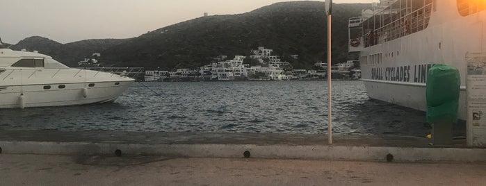 Amorgos Port is one of istiyorumgidicem!!.
