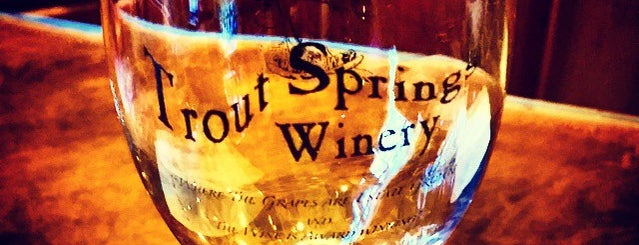 Trout Springs Winery is one of Wisconsin Wineries.