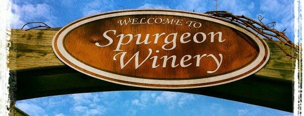 Spurgeon Vineyards & Winery is one of Wisconsin Wineries.