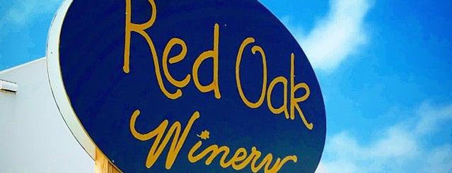 Red Oak Vinyard is one of Sturgeon Bay.