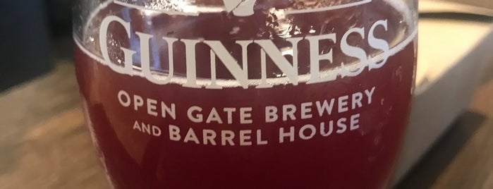 Guinness Open Gate Brewery & Barrel House is one of Posti salvati di Brent.