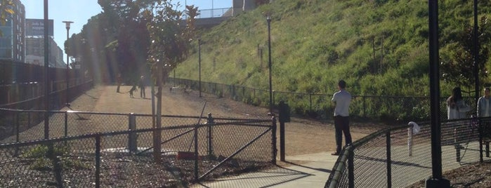 Rincon Hill Dog Park is one of Dog friendly by day.