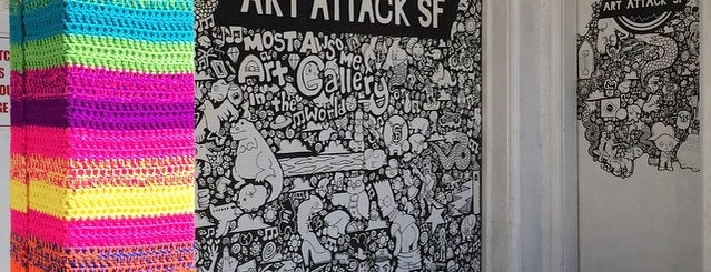 Art Attack SF is one of Guía de California.