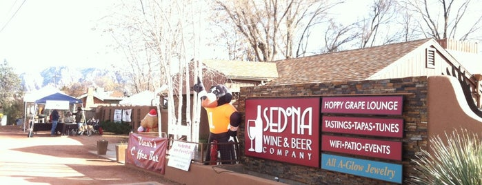 Vino Di Sedona Fine Wine & Craft Beer is one of Arizona March 2021.