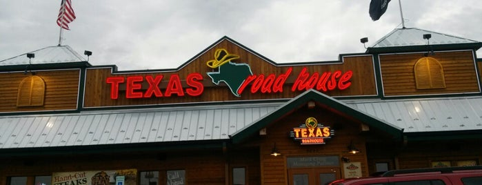 Texas Roadhouse is one of Lieux qui ont plu à Danny.