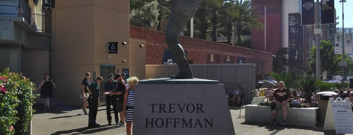 Trevor Hoffman Statue is one of Check In Out - San Diego.