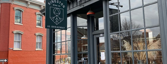 Kingston Wine Company is one of Upstate.
