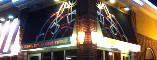 TGI Fridays is one of Gulf Coast restaurants.