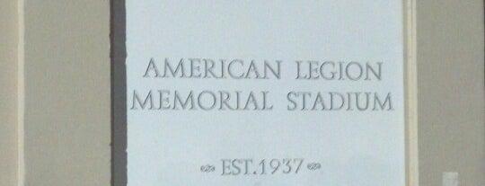 American Legion Memorial Stadium is one of Experience Teams & Venues.