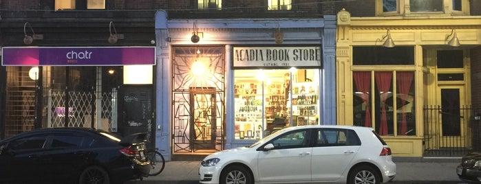 Acadia Bookstore is one of Ku.