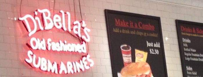 DiBella's Old Fashioned Subs is one of Tempat yang Disukai Jerrod.