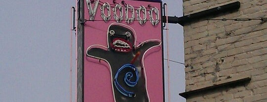 Voodoo Doughnut is one of Portland Signs.