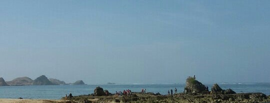 Kuta Beach is one of LOMBOK.