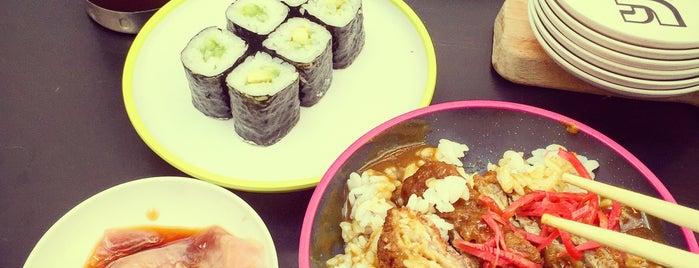 YO! Sushi is one of Locais curtidos por Kh.