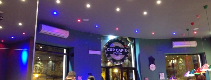 Cup Cap's Coffee is one of Tempat yang Disukai Daniele.
