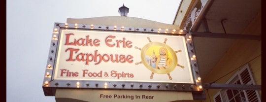 Lake Erie Taphouse is one of Lieux sauvegardés par Sarah.