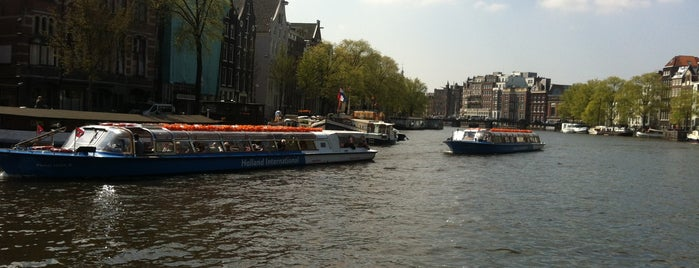 Amsterdam Canal Cruises is one of AMS.
