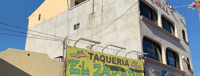 tacos zarape is one of Tempat yang Disukai Laura.