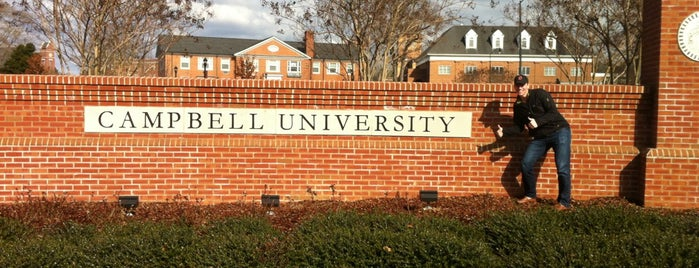 Campbell University is one of Drew 님이 좋아한 장소.