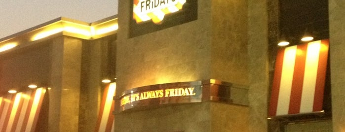 TGI FRiDAY'S is one of Tempat yang Disukai Foodie 🦅.