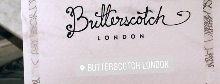 Butterscotch Tea Room is one of London.Food.