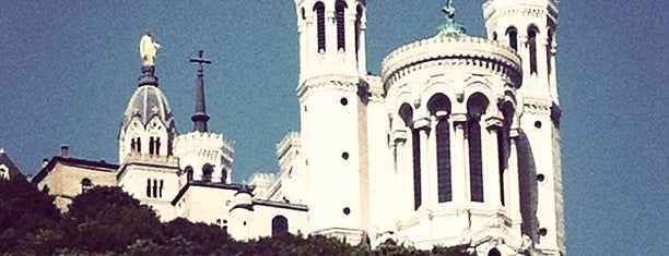 Basilique Notre-Dame de Fourvière is one of Orte, die Can gefallen.