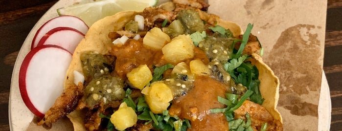 Taqueria Al Pastor is one of work from home food treats.