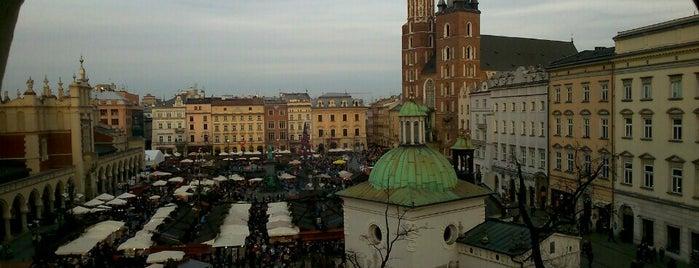 Rynek Główny is one of สถานที่ที่ Damianos ถูกใจ.
