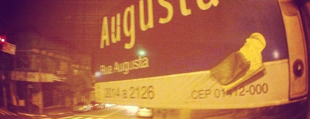 Rua Augusta is one of Brazil.