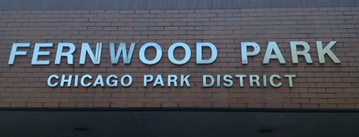 Fernwood Park is one of Chicago Park District Fitness Centers.