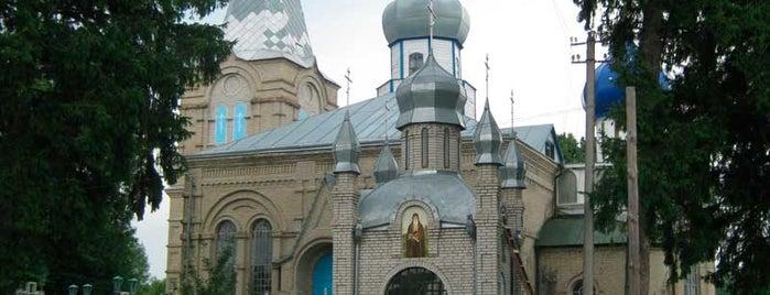 Храм Усікновення глави Іоанна Предтечі is one of Великі Крушлинці.