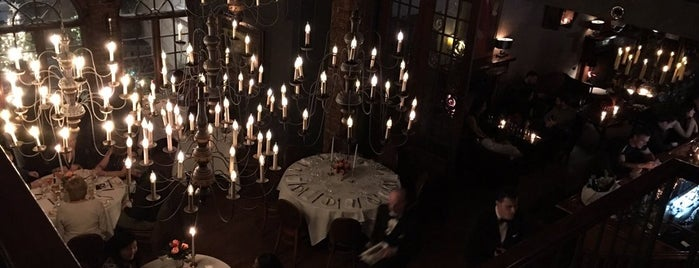 One if by Land, Two if by Sea is one of 8 Scarily Good Haunted Spots to Eat/Drink in NYC.