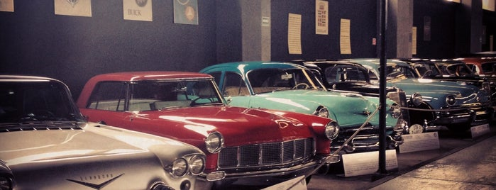 Museo del Automóvil is one of List 1.