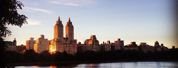 Jacqueline Kennedy Onassis Reservoir is one of Pretend I'm a tourist...NYC.