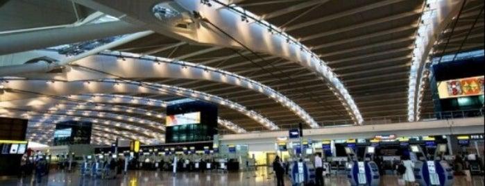 Flughafen London-Heathrow (LHR) is one of สนามบินนานาชาติ (1).