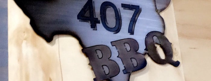407 BBQ is one of Russ's Liked Places.