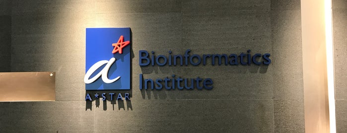 Bioinformatics Institute @ Biopolis is one of SIN.