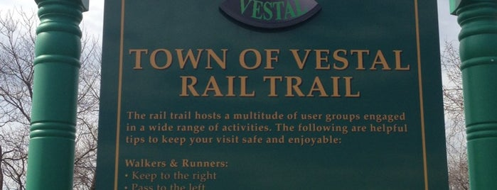 Vestal Rail Trail is one of Lugares favoritos de Kai.