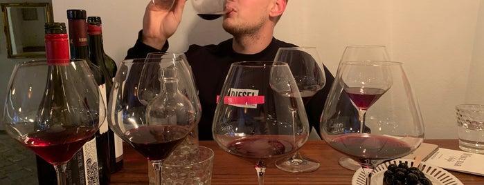 Wine bar Suklje is one of Lubljana.