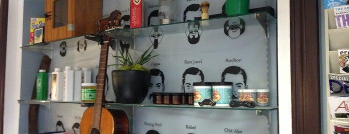 Bart's Barber Shop is one of Chris : понравившиеся места.