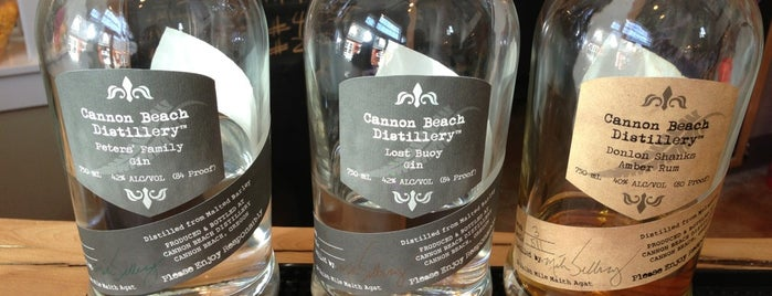 Cannon Beach Distillery is one of 2014 Oregon Trip.