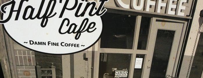 Half Pint Cafe is one of Portlandia Pilgrimage.