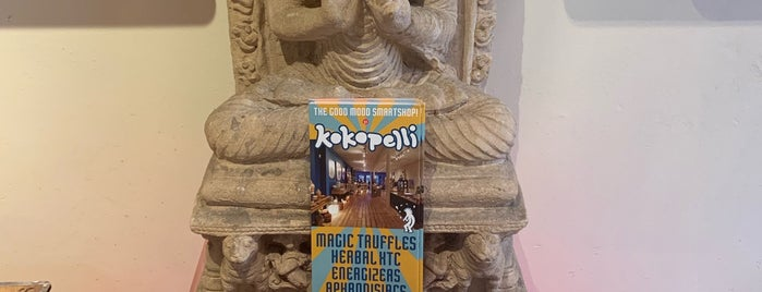 Kokopelli is one of Amsterdam.