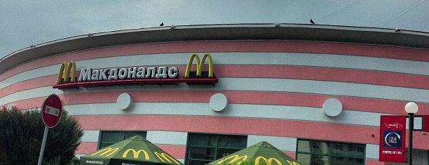 McDonald's is one of Леночка 님이 좋아한 장소.