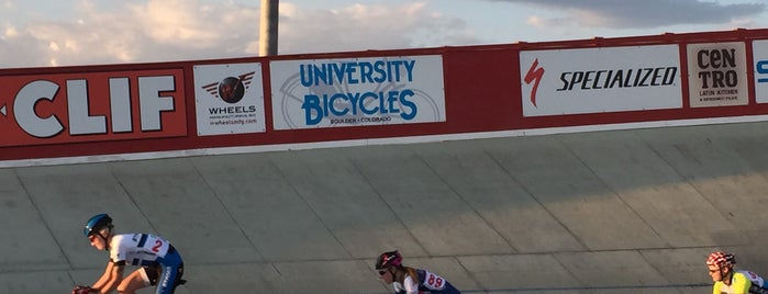 Boulder Velodrome is one of I want to go to there.