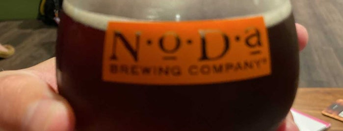 NoDa Brewing Company North End is one of Breweries I've been to.