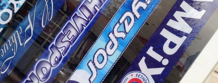 Fethiyespor Store is one of Lugares favoritos de Ali.
