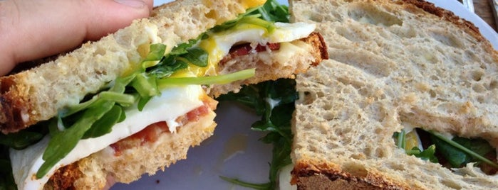 Huckleberry Cafe & Bakery is one of Jonathan Gold's 99 Essential LA Restaurants 2011.